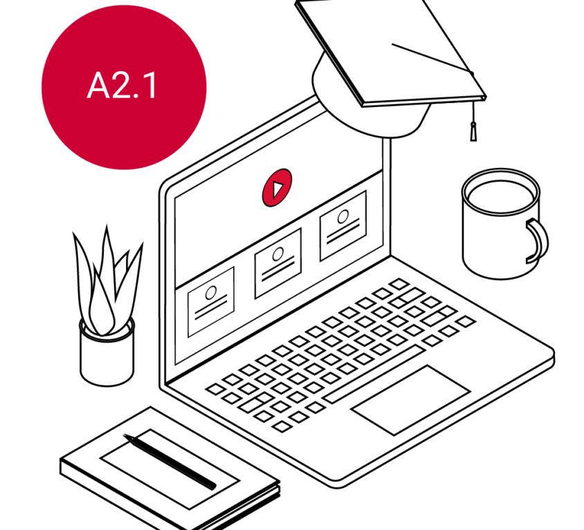Cursus met certificaat A2.1