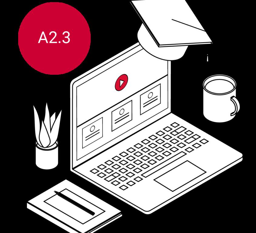 Cursus met certificaat A2.3