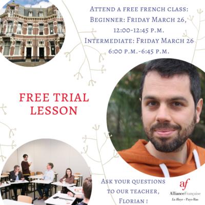 FR cours d'essai gratuit mars Florian